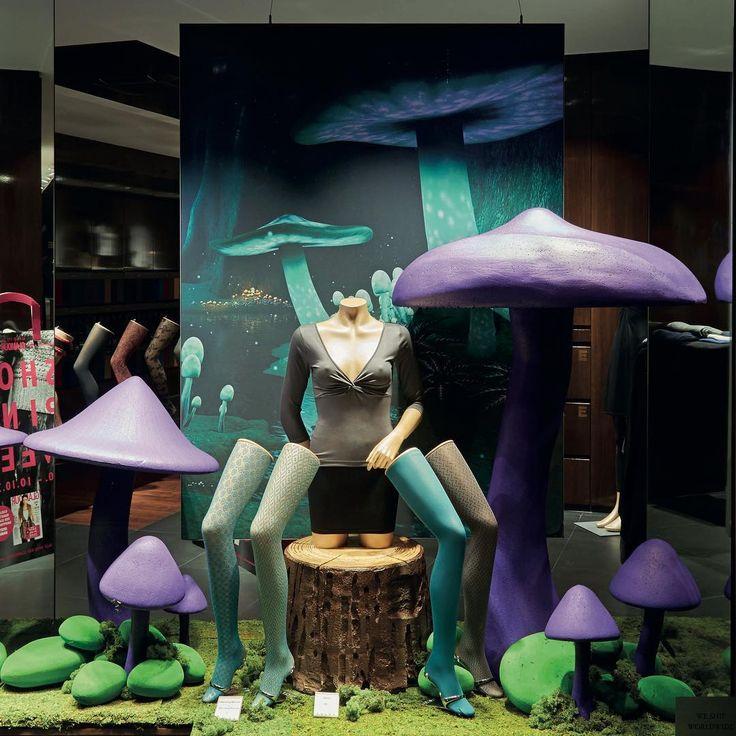"""FALKE, (Socks), Germany, """"Friendly Mushroom!"""", creative by Form Factory, pinned by Ton van der Veer"""