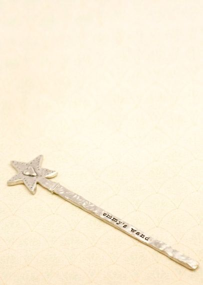 Have you seen my pewter wand? Perfect Christmas gift for the kiddos!