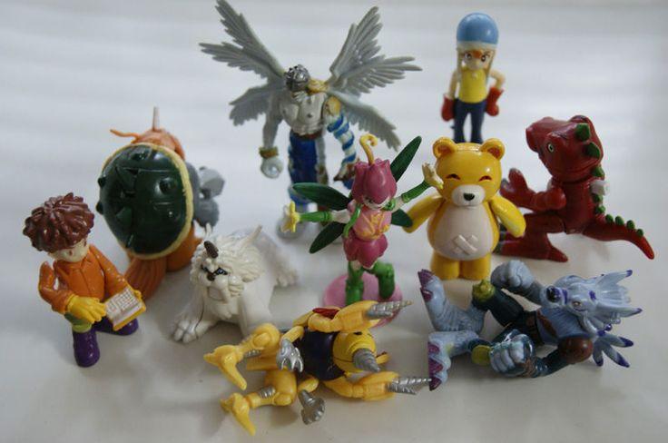 Kids Toys Action Figure: 35pcs DIGIMON ADVENTURE MINIMON MOTION ACTION FIGURES