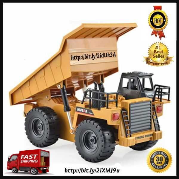 ThisElectric Toy Metal Dump Truck is a great toy for your boy. Irrespective of the size and other physical attributes, the fact that thisElectric Toy Metal Dump Truck toy can really work like the real thing is the most amazing aspect of these models. | eBay!