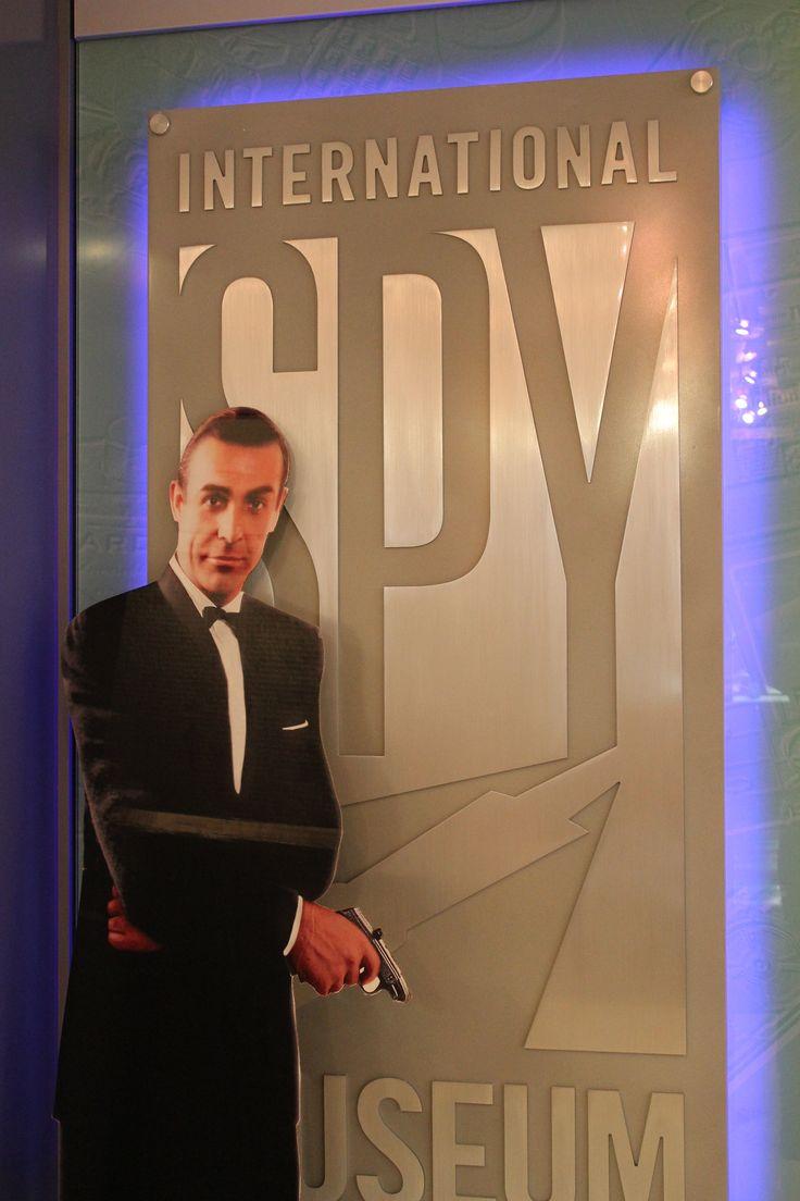 Sean Connery as James Bond cardboard standin