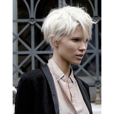 Coupe De Cheveux Courte Pour Cheveux Fins Coiffure Et Beaut Pinterest Belle Cheveux