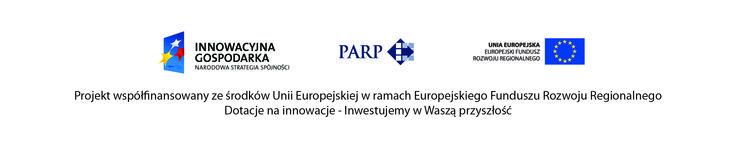 Projekt współfinansowany ze środków Europejskiego Funduszu Rozwoju Regionalnego. Dotacje na innowacje - Inwestujemy w Waszą przyszłość.
