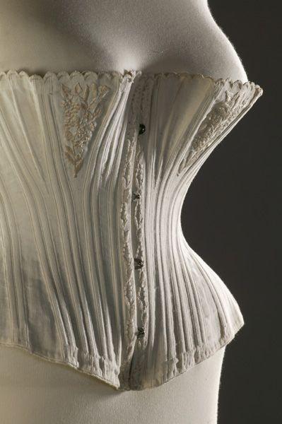 Fashion Museum UK  Corset, 1870-1875