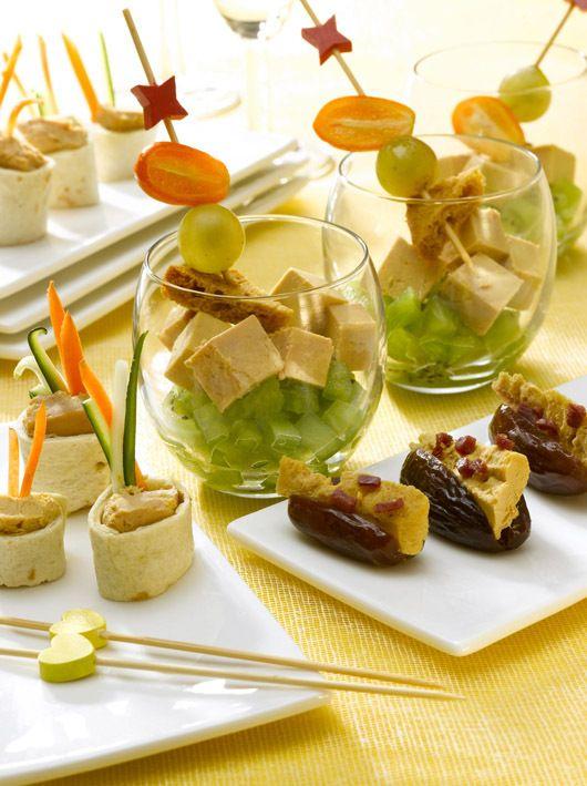 3 idées pour composer un apéro gourmand : les verrines fraîches de petits roulés de Foie Gras et Magret #foiegras #magret #recette