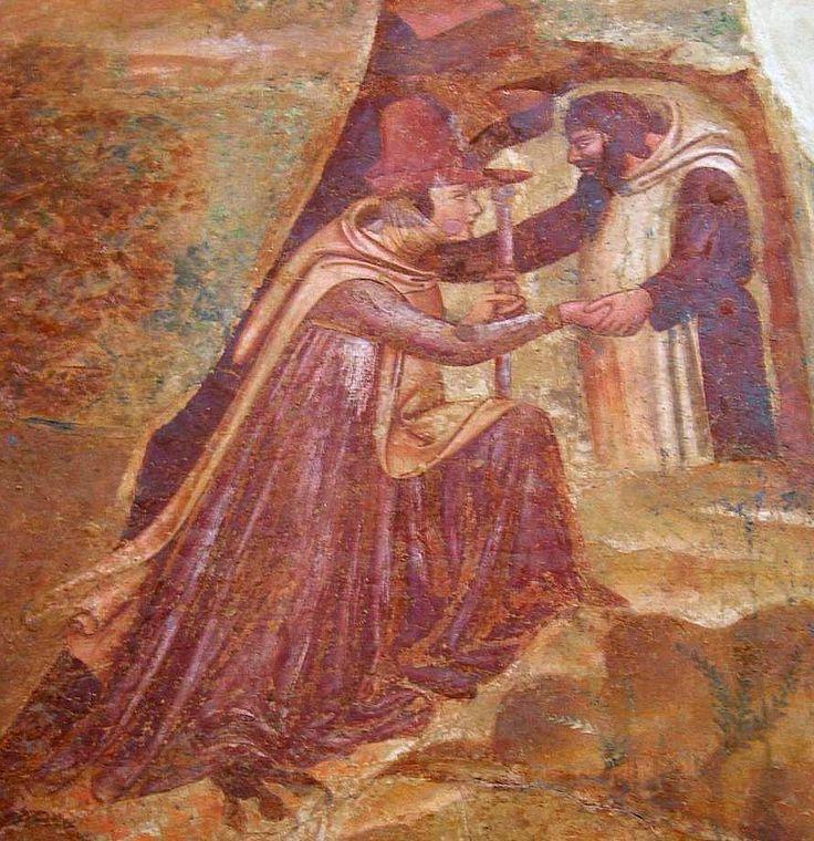 1336-41, Buffalmacco, Anacoreti nella Tebaide, Pisa