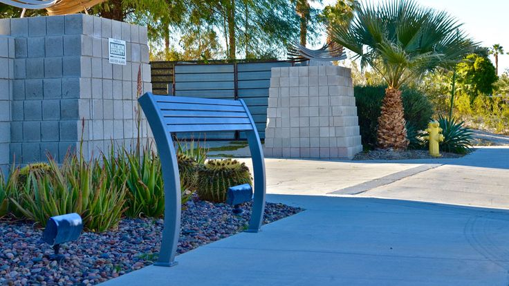Parker All Aluminum #Leaning #Bench. Model Number: PLAL-5 Leaning benches provide an alternative to standing in areas where a bench is not feasible. #streetfurniture #sitefurniture #landscapearchitecture