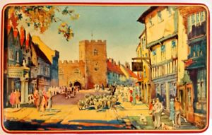 "Antiquité. Collection. Boîte en fer ""High Street, Stratford"""