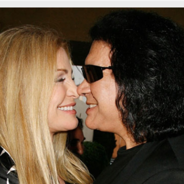 Gene Simmons and Shannon Tweed-Simmons.