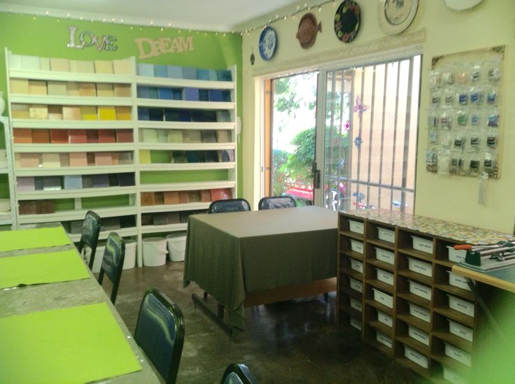 Lisa B's Art studio revamped