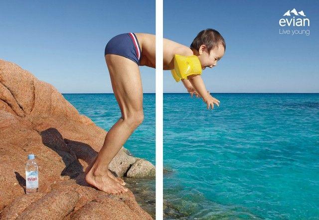 Agence BETC pour Evian Photographe Jean-Yves Lemoigne #liveyoung