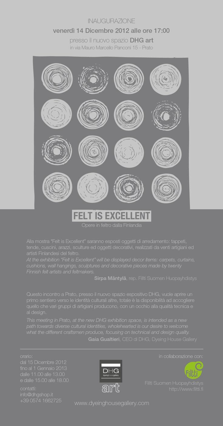 Felt is Excellent - Opere in Feltro dalla Finlandia - DHG Art