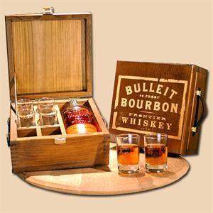 Bulleit Bourbon Toasting Box