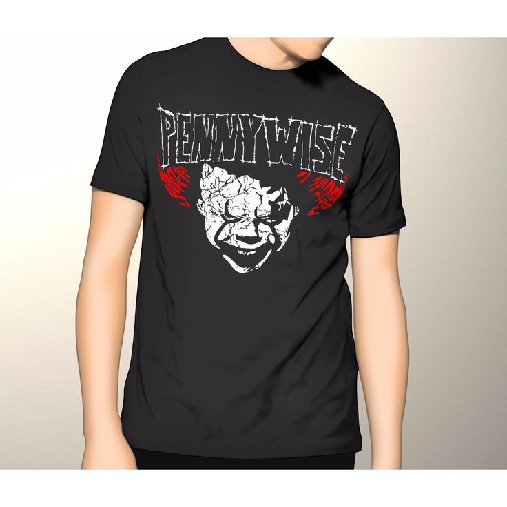 STEVEN King IT Horror movie PENNYWISE The CLOWN 2017 Version S - 5XL