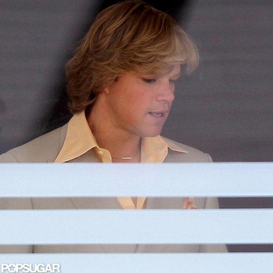 See Matt Damon's Liberace Movie Makeover