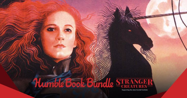 The Stranger Creatures book bundle is full of wild worlds for you to explore! You can also adopt a chimpanzee in this bundle (with a cute lil' plush version included, too). Humble Bundle and Brick Tower Press will donate ALL proceeds from purchases $25 and over to the Jane Goodall Institute! #fashion #style #stylish #love #me #cute #photooftheday #nails #hair #beauty #beautiful #design #model #dress #shoes #heels #styles #outfit #purse #jewelry #shopping #glam #cheerfriends #bestfriends…