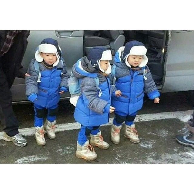 Daehan, Minguk, Manse | 3doong2 Instagram Update