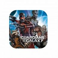 Guardians of the Galaxy Dinner Plates Square Pkt8 $4.95 A551414