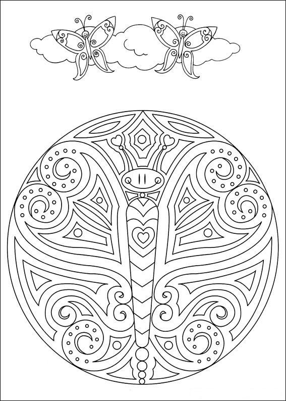 coloring pages for adults butterfly