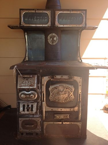 1870's Majestic wood burning cook stove