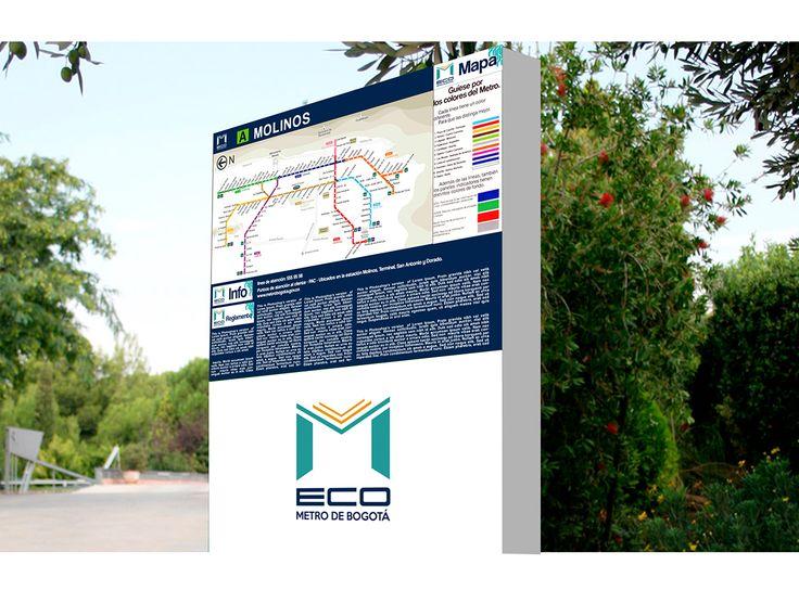 IDENTIDAD CORPORATIVA METRO DE BOGOTÁ 2015-I ESTUDIANTE ANGIE FERREIRA, JONNY SOCHA, ANDRES https://www.behance.net/gallery/26853361/Metro-de-Bogota-Manual-Corporativo