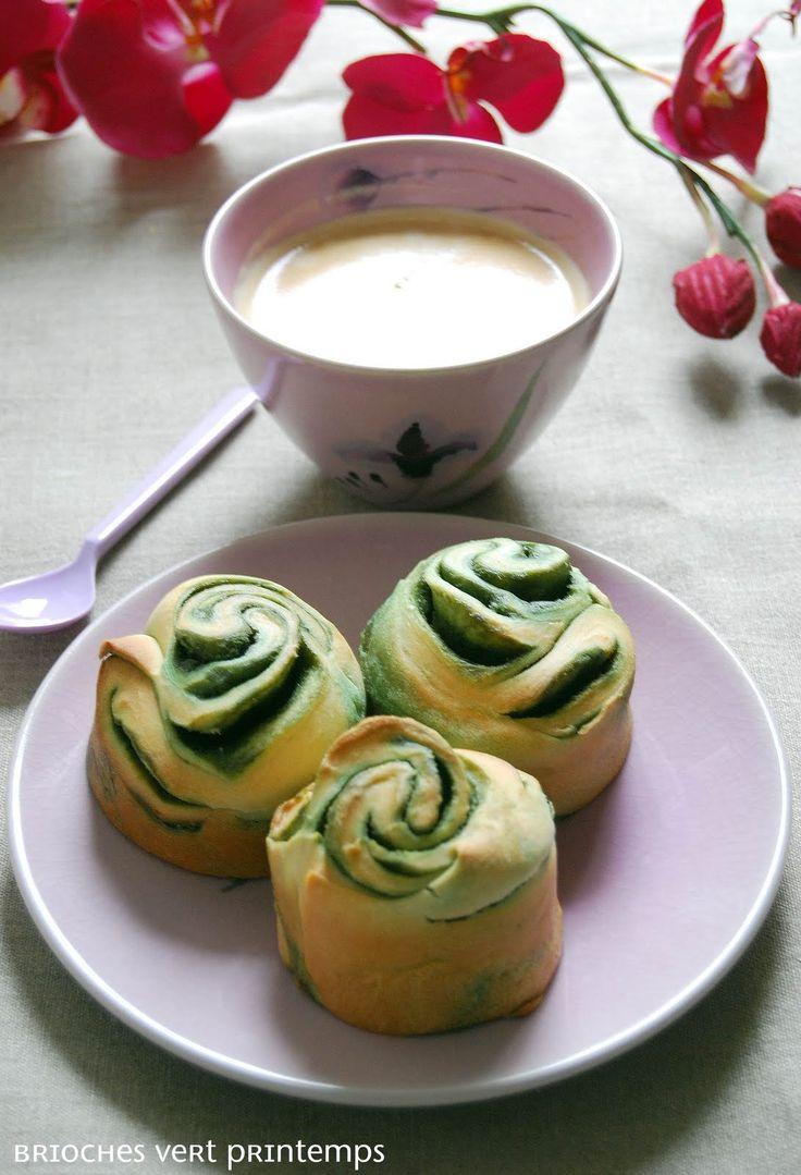 Very Easy Kitchen: brioches vert