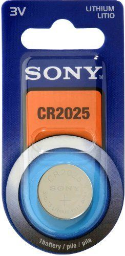 Lithium Button Cell Battery by Sony. Save 100 Off!. $2.75. Sony Lithium Coin Battery can be used in a broad range of applications, from quarts watches and clocks, a backup power sources for IC memories requiring long-term reliability to PC motherboards, PDA and car keyless entry systems.