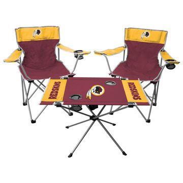 Washington Redskins Rawlings Tailgate Chair And Table Set