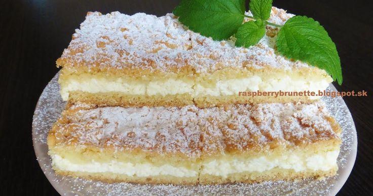 Raspberrybrunette  Krehký tvarohový koláč