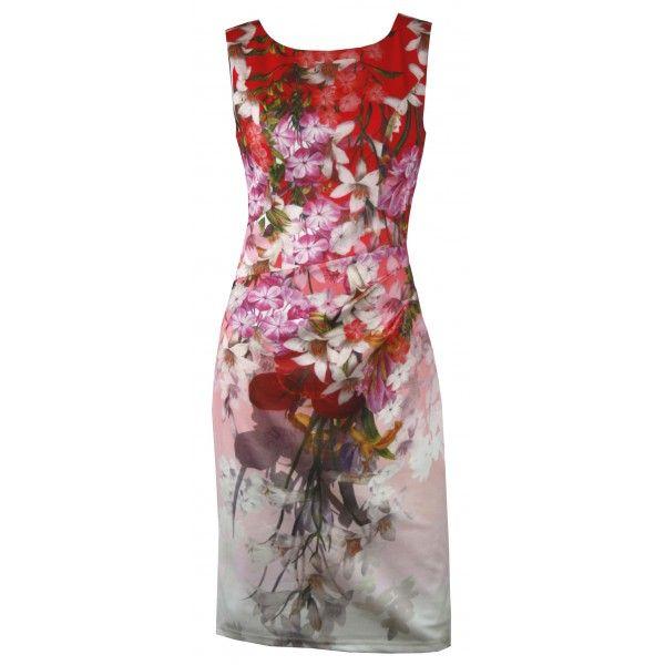 Warata Floral Party Dress