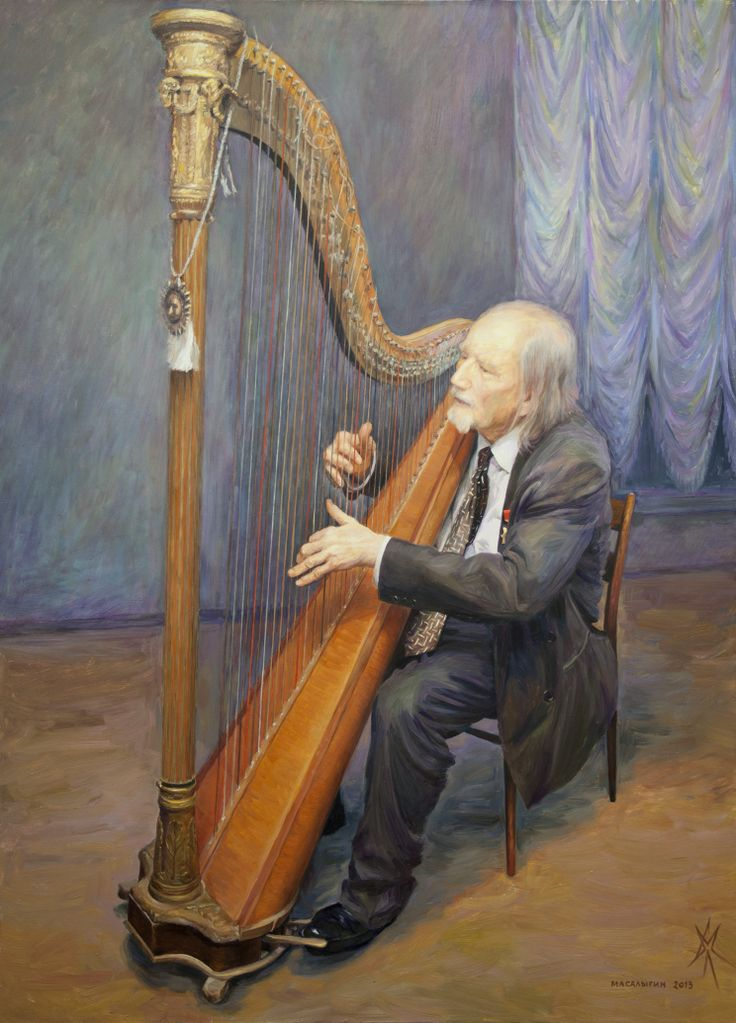 Composer V. S. Matveev-Ventzel. Portrait.