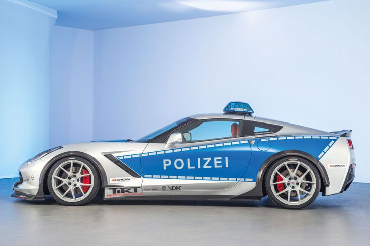Photoset: Corvette C7 Stingray Police Vehicle by TIKT Performance #corvette #stingray #chevrolet #gm #cars #autos #tuning #police #polizei #design #tuning #tiktperformance
