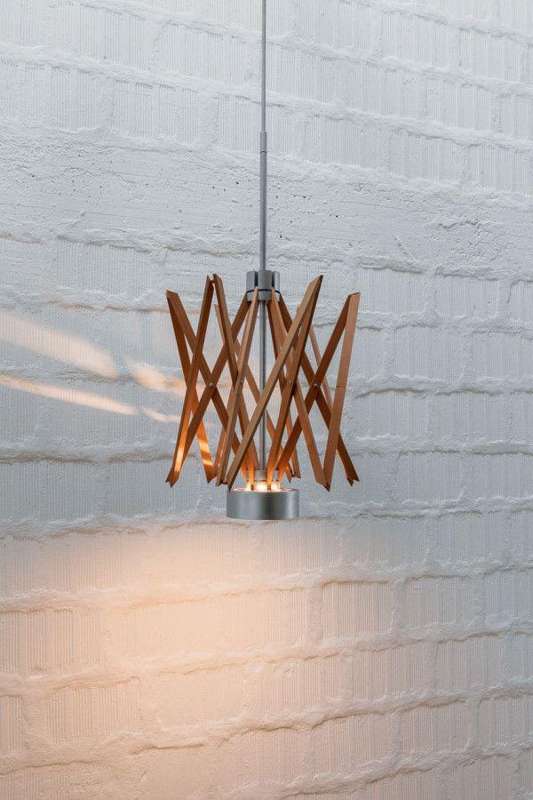 Born from Myth: ARIANNA Lamp by Baldessari e Baldessari for Pallucco via designmilk