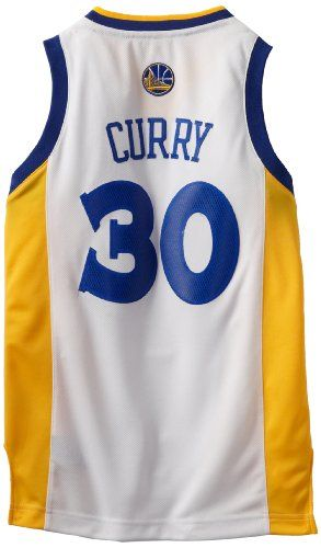 Cheap NBA Golden State Warriors Stephen Curry Youth 8-20 Swingman Home Jersey Father day sale