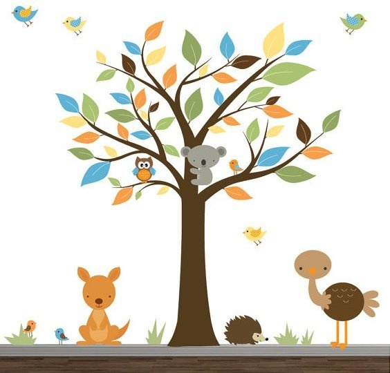 Childrens Wall Decor 66 best styling//childrens wall decals images on pinterest | tree