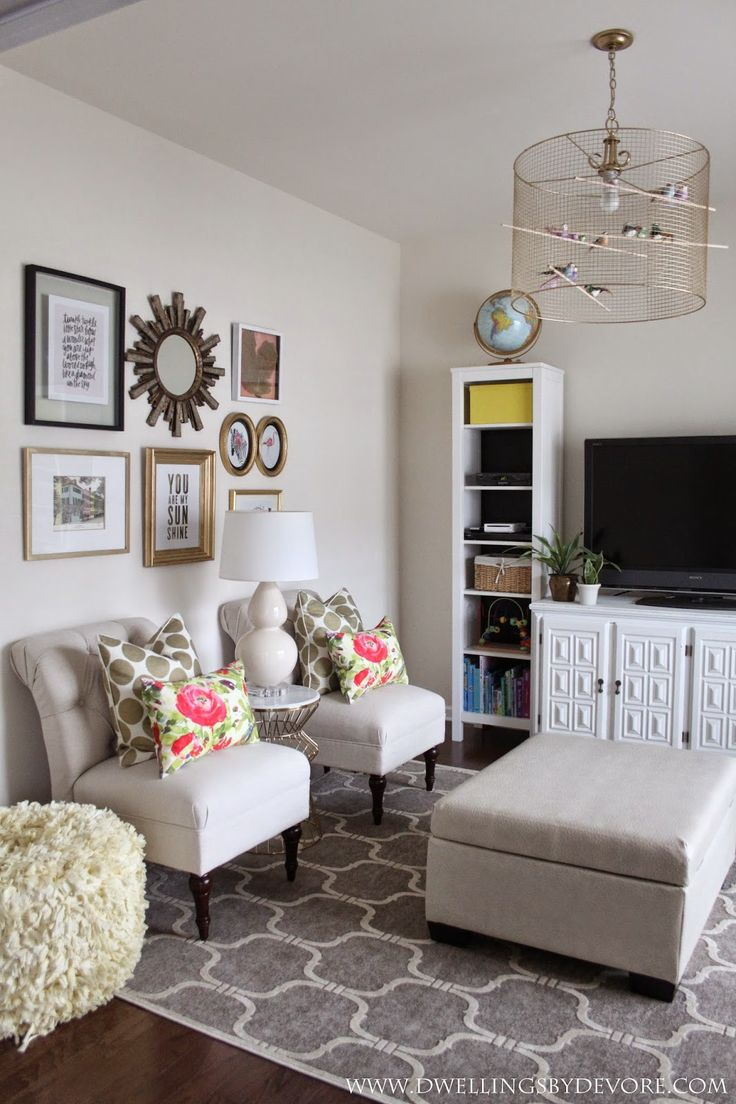 Playroom Phase 1 Featuring Rugs USAs Velvet Trellis VI03 Rug A Living Room