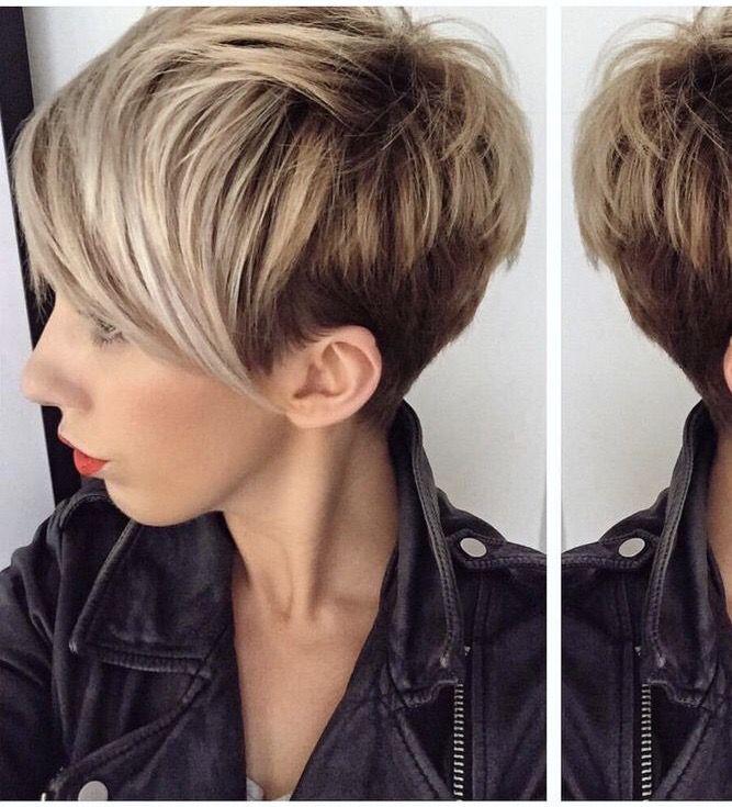 Pin Von Hanna Mi Auf Short Haircuts Ausgefallene Frisuren Haarfarben Frisuren Kurz