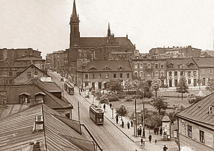 The Old Town,1918-1939, Lodz, Poland