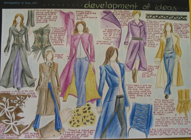 textiles coursework design brief Page spreads from gcse textiles technology for ocr student developing a design brief and drawing up a specification use of ict within coursework objective 4.
