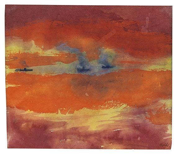 Artworks of Emil Nolde (German, 1867 - 1956) from galleries, museums and auction houses worldwide.
