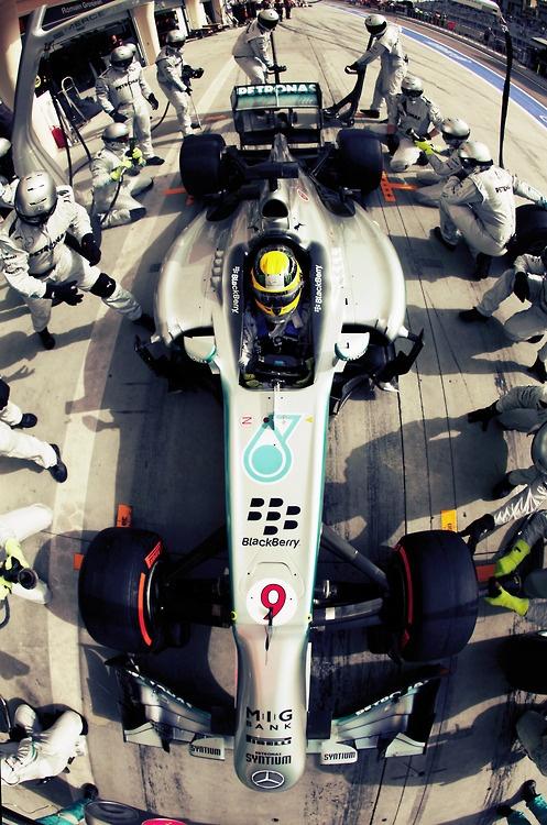 Lewis Hamilton above all