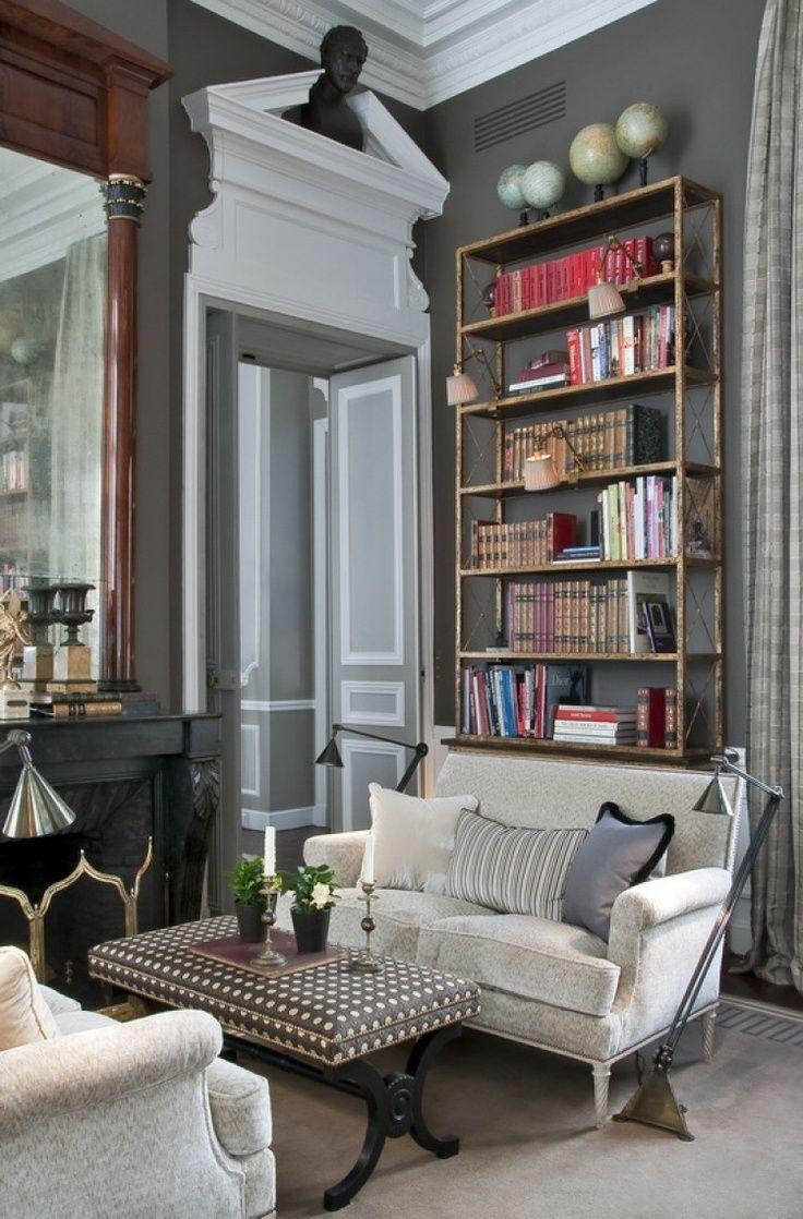 164 best images about architectural mouldings ceilings for Appartement parisien decoration