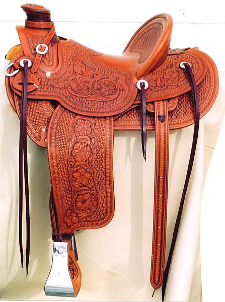 GORGEOUS Wade Saddle by Klenda Saddlery