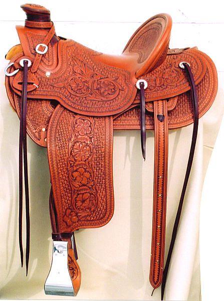 GORGEOUS Wade Saddle by Klenda Saddlery
