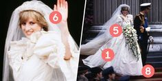 10 Things You Didn't Know About Princess Diana's Wedding Dress - David and Elizabeth Emanuel's Design