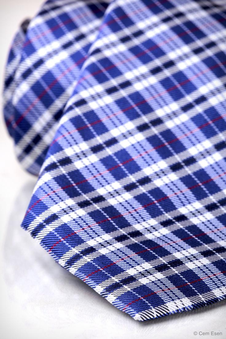 Blue Tie – Close Up