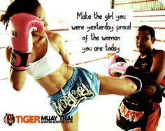 YES! Women Kickboxing Quotes. QuotesGram by @quotesgram