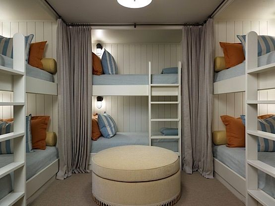 Someday I'll have a bunk room so all my (future) grandbabies can stay over!
