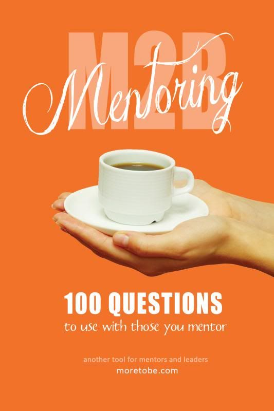 A collection of over 100 questions designed for you to use with your mentoree to encourage lively conversations as well as accountability and spiritual growth.