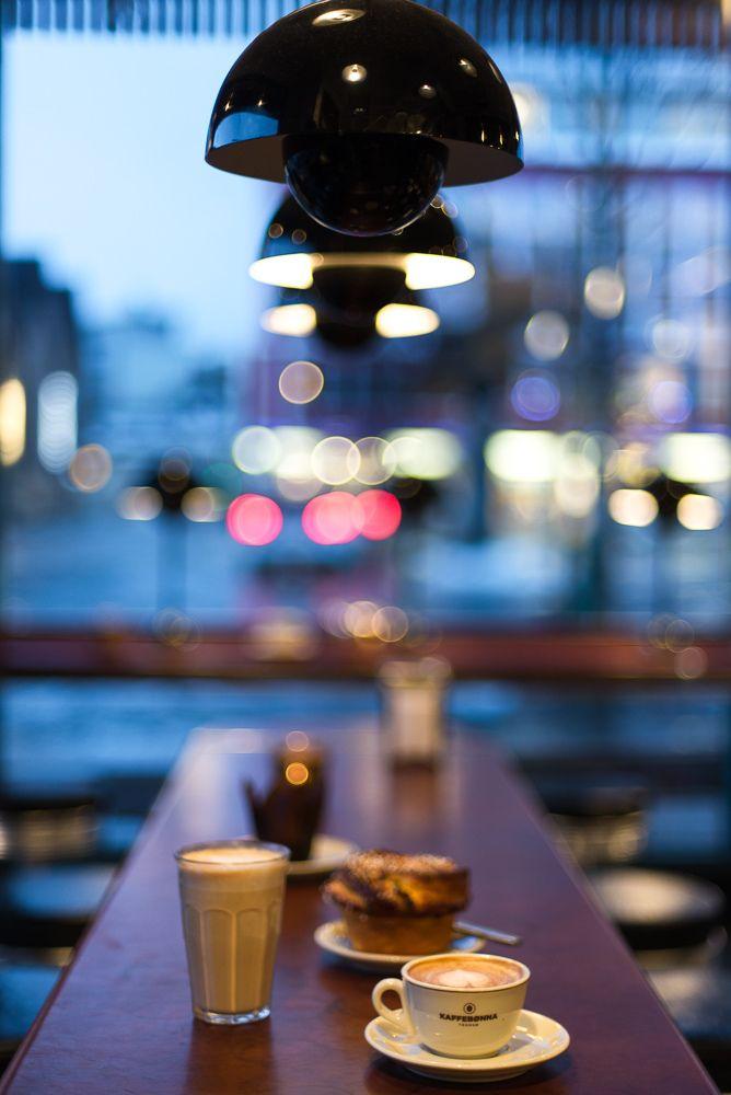 Kaffebønna, one of Tromsø's best coffee shops (Norway).